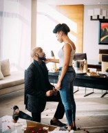 Adesua Etomi and Banky Wellington Engaged LoveWeddingsNG 2