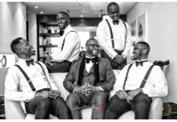 Nigerian Groom and Groomsmen Tega and Casmire Crispy Photographs LoveWeddingsNG