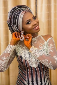 Nigerian Wedding Trend 2017 Bride in Multiple Outfits Traditional Wedding LoveWeddingsNG