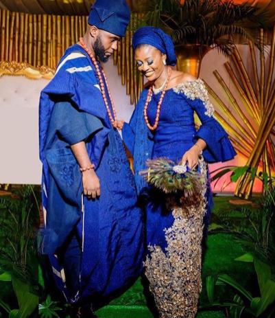 Nigerian Wedding Trends 2017 Peacock Traditional Bridal Hand Fans LoveWeddingsNG
