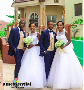 Nigerian Wedding Trends 2017 Twins Getting Married on the Same Day LoveWeddingsNG Amessential Photography