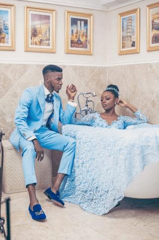 Blue Themed Wedding Shoot LoveWeddingsNG 1