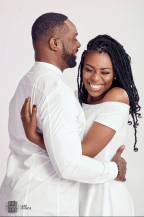 Ebony Life Presenter Cynthia Kamalu PreWedding #WeareWan LoveWeddingsNG Laah Studios