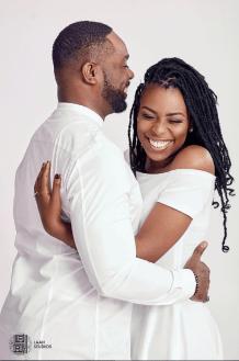 Ebony Life Presenter Cynthia Kamalu PreWedding #WeareWan LoveWeddingsNG Laah Studios