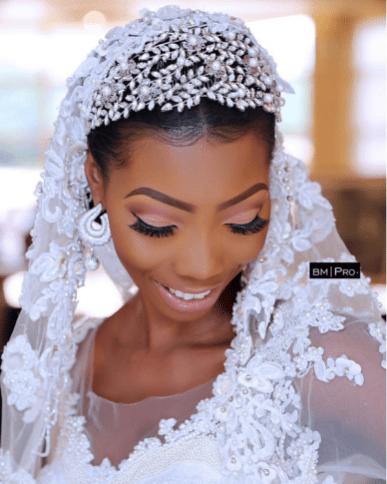 Nigerian Bridal Makeup Ms Makor Banke Meshida Lawal #Alfreds2017 LoveWeddingsNG 1