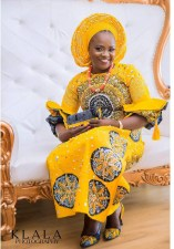 Nigerian Hot Wedding News Ankara Aso Oke Klala Photography LoveWeddingsNG