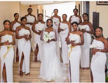 Bride and Bridesmaids from #Teedot2017