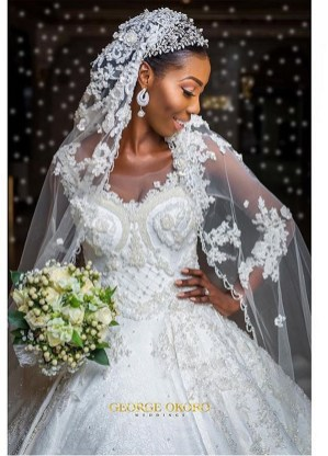 Nigerian Hot Wedding News The Designer Bride Ms Makor Banke Meshida Lawal George Okoro Weddings LoveWeddingsNG