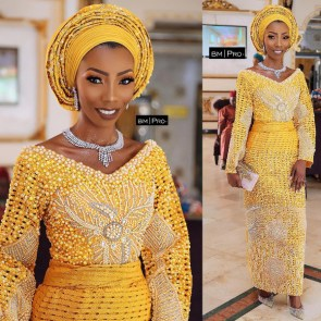 Nigerian Hot Wedding News The Designer Bride Ms Makor Banke Meshida Lawal Lavish Bridals LoveWeddingsNG