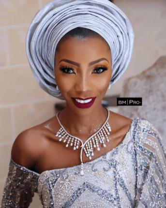Nigerian Traditional Bridal Makeup Ms Makor Banke Meshida Lawal #Alfreds2017 LoveWeddingsNG 1