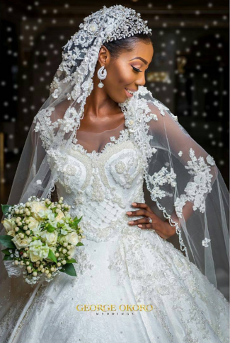 Nigerian Wedding The Designer Bride Ms Makor #Alfreds2017 George Okoro Weddings LoveWeddingsNG 1