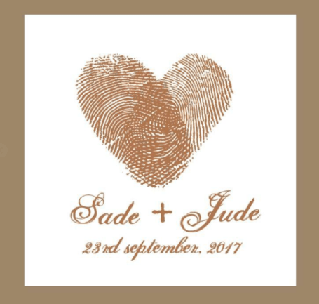 Sade and Jude Rustic Nigerian Wedding Logo LoveWeddingsNG 1