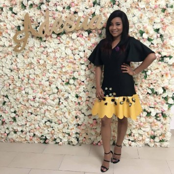 Adesua Etomi's Bridesmaid Linda Ihuoma Ejiofor LoveWeddingsNG
