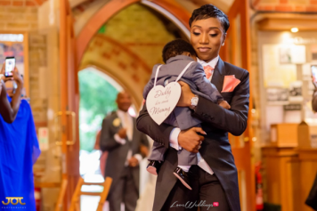 Ghanaian Wedding Best Woman and Couple's son Getting Ready Bema and Cherelle Adjei-Ampofo JOT Photography LoveWeddingsNG 3