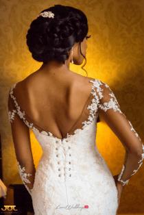 Ghanaian Wedding Bride in Illusion Sleeves Bema and Cherelle Adjei-Ampofo JOT Photography LoveWeddingsNG 2