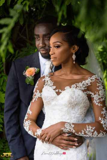 Ghanaian Wedding Couple Portrait Bema and Cherelle Adjei-Ampofo JOT Photography LoveWeddingsNG 1
