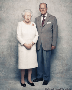 Her Majesty The Queen of England and Prince Phillip 70th Wedding Anniversary LoveWeddingsNG