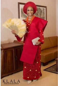 Nigerian Traditional Bridal Makeup Lola and Wale Klala Photography LoveWeddingsNG 6