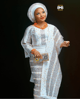 Nigerian Traditional Bride Dami Portrait #DWedding17 Mofe Bamuyiwa BMB Photography LoveWeddingsNG