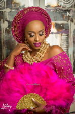 Nigerian Traditional Bride Steph and Tito Atilary Studio LoveWeddingsNG