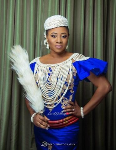 Nigerian Traditional Bride Uche and Emeka Diko Photography LoveWeddingsNG