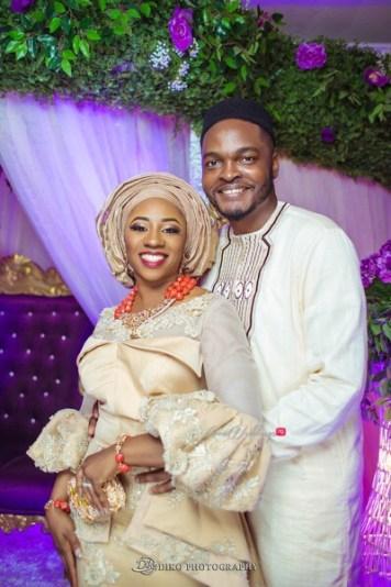 Nigerian Traditional Wedding Couple's Portrait Uche and Emeka Diko Photography LoveWeddingsNG 2