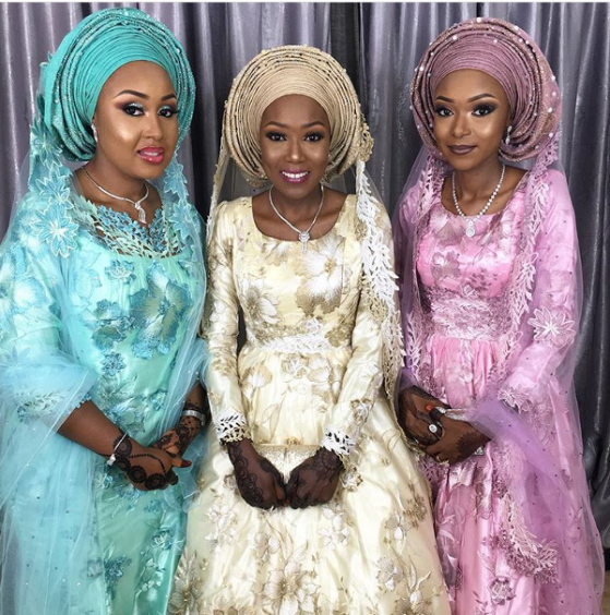 Nigerian Wedding Three Sisters Wed in Kano LoveWeddingsNG