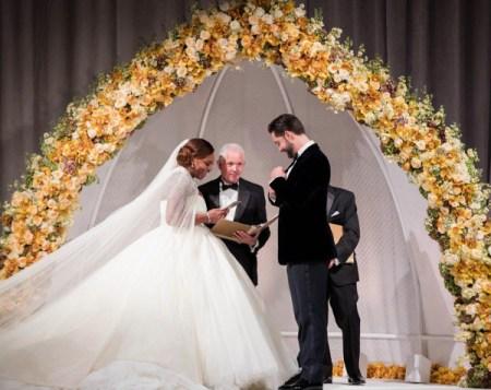 Serena Williams Alexis Ohanaian Wedding LoveWeddingsNG (C) Lisa la mode 1