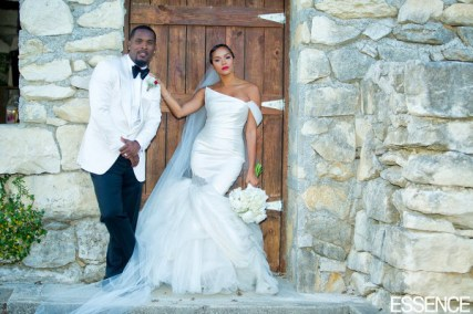 LeToya Luckett and Tommicus Walker Wedding LoveWeddingsNG 1