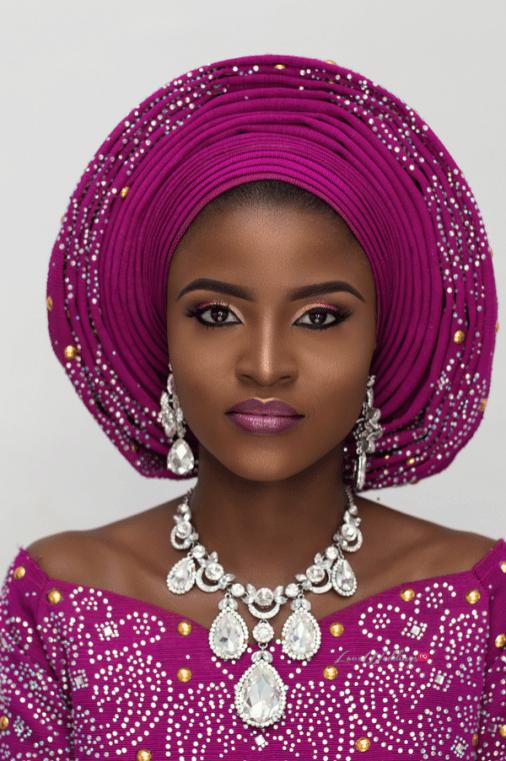 Twin Traditional Bridal Inspiration NomeyJ Makeovers LoveWeddingsNG 1