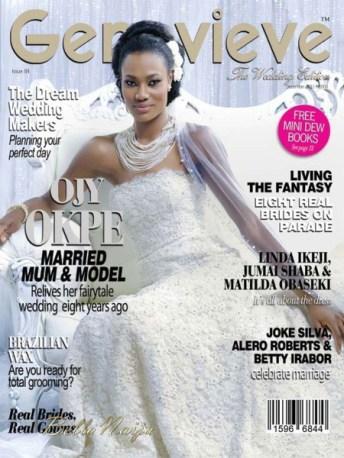Genevieve Magazine Wedding Issue Ojy Okpe December 2011 LoveWeddingsNG