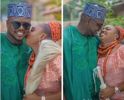 Ken Erics Nollywood Actor Traditional Wedding LoveWeddingsNG 2