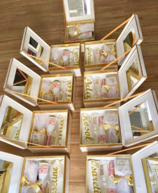 Nigerian Bridesmaids Gifts The Gift Fairy NG LoveWeddingsNG #ForeverAHMUYours18