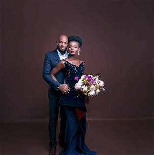 Nigerian Studio PreWedding Shoot Ibidola and Yimi Sogbesan #NYUnion LoveWeddingsNG 2