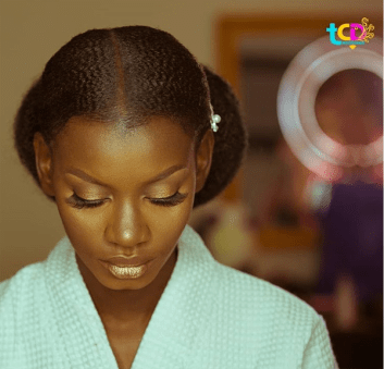 Nigerian bridal makeup prep Ibidola and Yimi #NYUnion TCD Photography LoveWeddingsNG 1