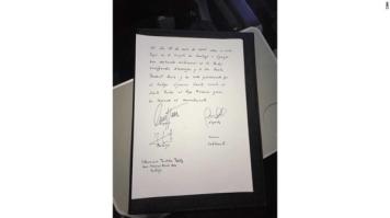 Paula Podest and Carlos Ciuffardi married by Pope Francis wedding certificate LoveWeddingsNG