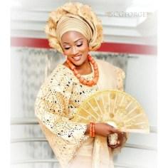 Traditional Bridal Hand Fans LoveWeddingsNG 4