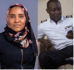 The couple, Fatima Dangote & Jamil Abubakar
