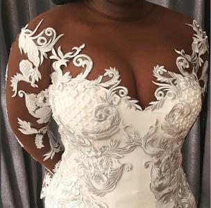 Nigerian Bride Temi in Andrea Iyamah #TABBS17 LoveWeddingsNG 1