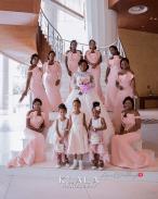 Nigerian Bride and Bridesmaids Folake and Ademola's Wedding #FAB2018 Klala Photography LoveWeddingsNG
