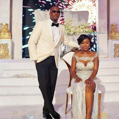 Nigerian Bride and Groom Reception Look Folake and Ademola's #FAB2018 Wedding Keziie LoveWeddingsNG