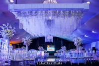Nigerian Wedding Decor Crystal Ceiling Yvent Kouture LoveWeddingsNG #VavaRoyal17