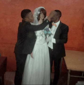 Nigerian man weds sex doll in Lagos LoveWeddingsNG 1
