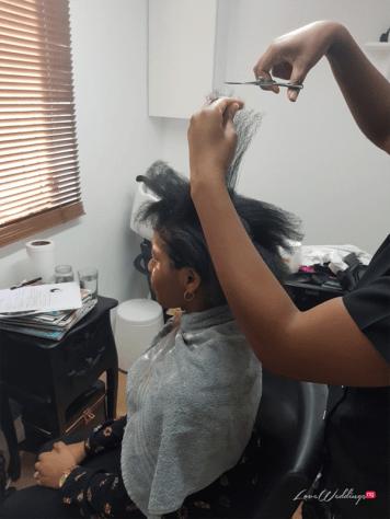 Chioma Alade of Studio-Chi Weddings & Design Bridal Hair Loss Nigerian Wedding LoveWeddingsNG 5