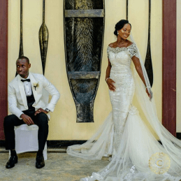 Nigerian Brides who wore Nigerian bridal designs - Ebi in Reni Smith LoveWeddingsNG