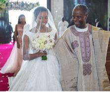 The Vice President's daughter, Damilola Osinbajo weds Oluseun Bakare Father - Daughter #DASH18 LoveweddingsNG