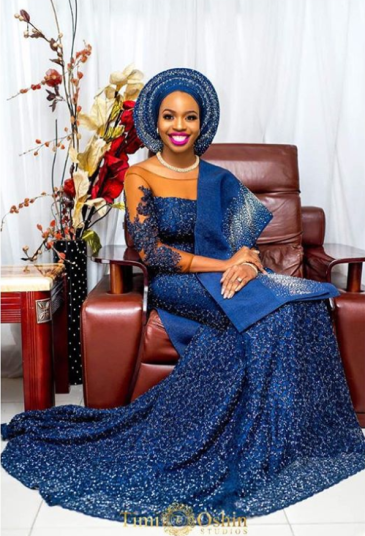 Tuke Morgan Nigerian Traditional Bride The Wardrobe Manager LoveWeddingsNG