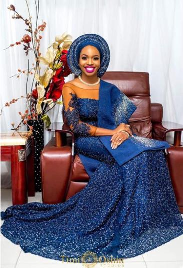 Tuke Morgan Nigerian Traditional Bride The Wardrobe Manager LoveWeddingsNG