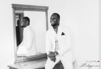 Nigerian Groom Ini and Femi's Rustic Nigerian Wedding LoveWeddingsNG 1