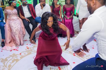 Nigerian Wedding Chidinma and Christian's White Wedding Bridesmaid and Groomsman Dance Off LoveWeddingsNG 4